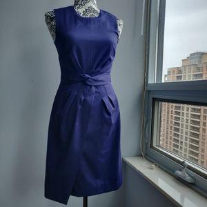 J. Crew Purple Formal Sleeveless Accent Dress